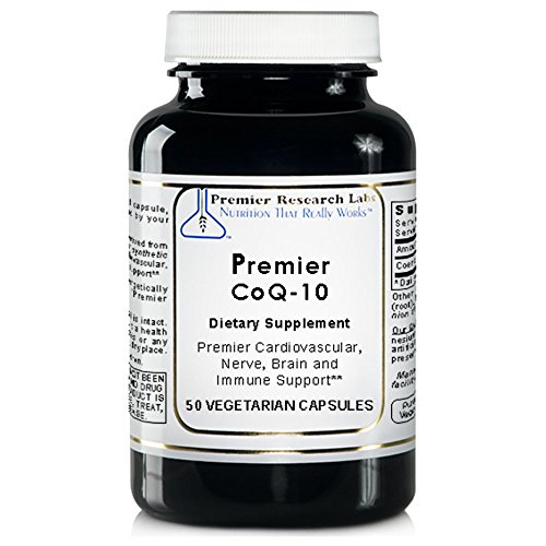 Premier Research Labs CoQ-10 - Supports Cardiovascular, Nerve, Brain and Immune Health (50 Capsules)