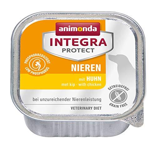 animonda Integra Protect Diät Hundefutter, Nassfutter bei chronischer Niereninsuffizienz,  mit Huhn, 11 x 150 g