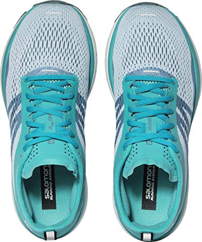 Salomon Women's Sonic RA 2 W Running, Cashmere Blue/Bluebird/Illusion Blue, 8