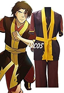 Avatar The Last Airbender ZUKO Cosplay Costume Halloween Clothing Adult Cosplay Costume ALL SIZES