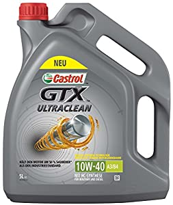 Castrol GTX Ultraclean 10W-40 A3/B4, 5 L
