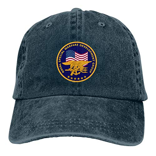 Xindianpucsk Seal Team Six Cowboy Hat Baseball Hat Fashion Hat Navy