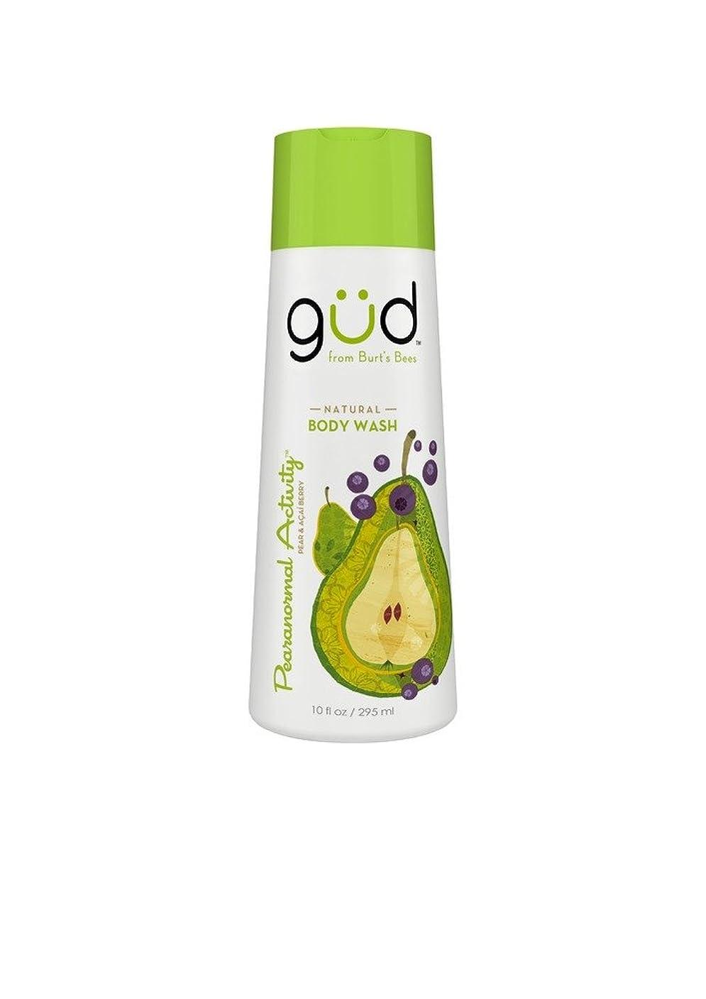 誰あえぎ騒乱Gud Natural Body Wash Pearanormal Activity Pear & Acai Berry by Gud
