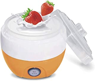 WGNHM Yogurt machine,Automatic Yogurt Maker Machine Customize To Your Flavor And Thickness Electric (Color : Orange)