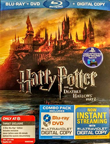 Harry Potter and the Deathly Hallows, Part 2 (4-Disc Blu-ray/DVD Combo UltraViolet Digital Copy Edition with Bonus Disc) by Warner Home Video by David Yates