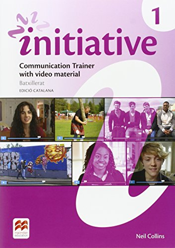 INITIATIVE 1 Wb Pk Cat - Communication Trainer with video material & Workbook, set de 2 libros
