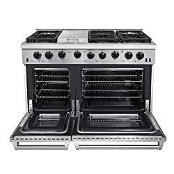 which is the best double oven stove in the world