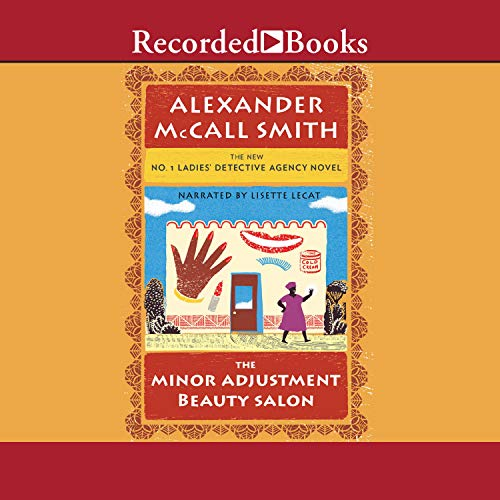 The Minor Adjustment Beauty Salon Audiobook By Alexander McCall Smith cover art