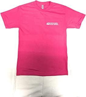 Post Office T Shirt United States Postal Service Pink