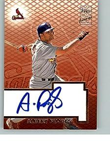 2003 Topps Baseball Autograph Auto Albert Pujols