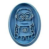 Cuticuter Bambini Minion Ovale di Biscotti, Blu, 8x 7x 1.5cm