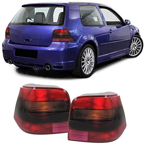 Carparts-Online GmbH 14801 Rückleuchten rot schwarz GTI