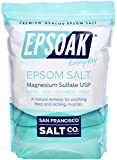 Epsoak Epsom Salt 19 lb. Bulk Bag Magnesium Sulfate USP (Packaging May...