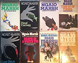 Ngaio Marsh - 8 Book Set - Last Ditch - Death and the Dancing Footman - Death in a White Tie - Grave Mistake - Tied Up in ...
