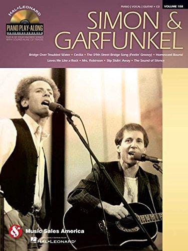 Piano Play-Along Vol.108 Simon & Garfunkel + Cd