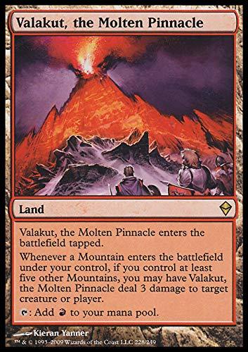 Magic The Gathering - Valakut, The Molten Pinnacle (228) - Zendikar