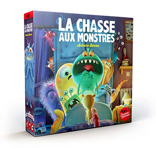 La Chasse aux Monsters Asmodee Gesellschaftsspiel Kinderspiel Kooperatives Gedächtnisspiel