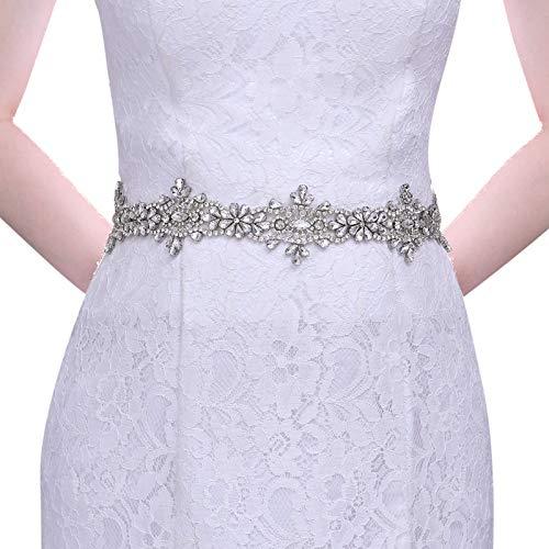 Azaleas Cinturón de novia brillante para vestido de noche, vestido de novia,...