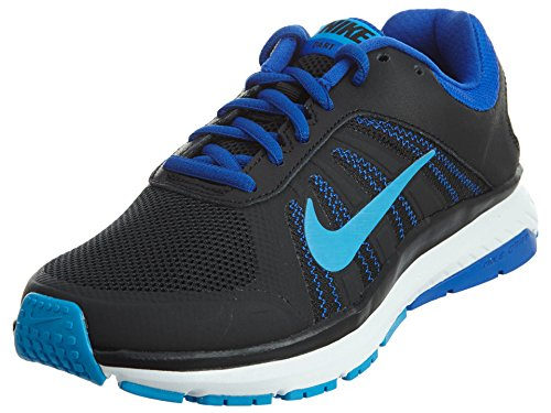 Nike Womens Dart 12 Running Trainers 831535 Sneakers Shoes (US 6.5, Black Blue Glow White 004)