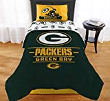"The Northwest Company NFL Green Bay Packers ""Monument"" Twin XL Comforter Set #284544661"
