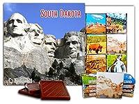 "DA CHOCOLATE キャンディ スーベニア ""サウス・ダコタ"" SOUTH DAKOTA チョコレートセット 5×5一箱 (Rushmore)"
