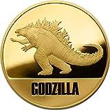 Power Coin Godzilla 1 Oz Moneda Oro 250$ Niue 2021
