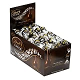 Lindt LINDOR 60% Extra Dark Chocolate Truffles, Kosher, 120 Count Box, 50.8 Ounce