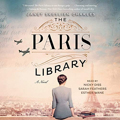 The Paris Library Audiobook By Janet Skeslien Charles cover art
