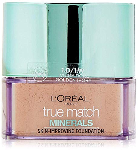 L'Oreal Paris True Match Minerals Stiftung, 1D/1W Golden Ivory