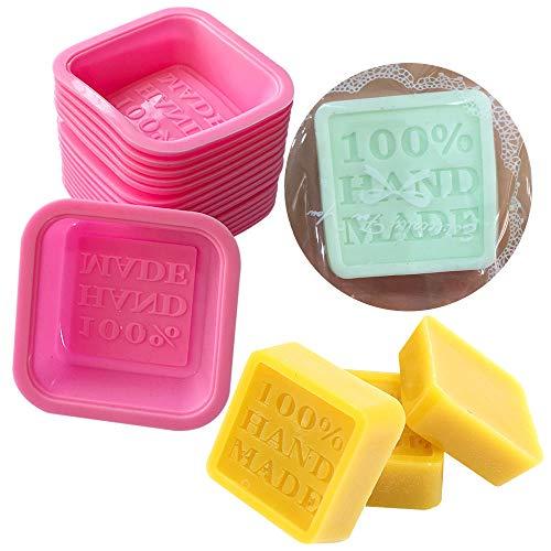 SEPTEMBER 10 Stück handgefertigte Seifenform aus Silikon für Kuchen, Süßigkeiten, Schokolade