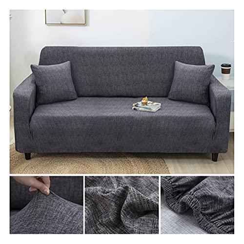 Rowe Elastic Divano Slipcovers Moderno del sofà della Copertura for Il Salone sezionale d'angolo a Forma di L Chair Protector Couch Copertura 1/2/3/4 posti (Color : Color 15, 规格 : 3 Seater 190 230cm)