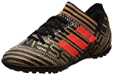 Adidas Nemeziz Messi Tango 17.3 TF J, Botas de fútbol Unisex niño, Negro (Negbas/Rojsol/Ormetr 000), 30.5 EU