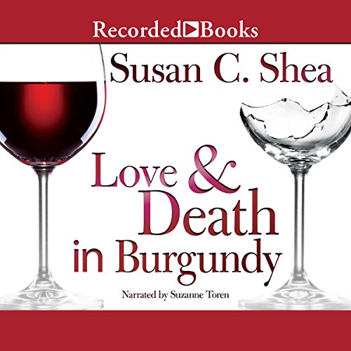 Love & Death in Burgundy audiobook cover art