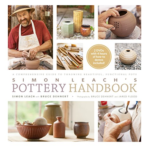 Simon Leach\'s Pottery Handbook: A Comprehensive Guide to Throwing Beautiful, Functional Pots (English Edition)
