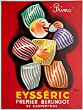 Eysseric berlingot Carpentras Reproduction Affiche Poster-Format Size 50X70 cm Papier 300 GR-Vente du fichier numérique HD Possible Nous Consulter.(Boutique : affichevintage.FR)