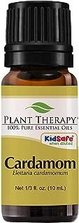 Plant Therapy Cardamom Essential Oil 10 mL (1/3 oz) 100% Pure, Undiluted, Therapeutic Grade