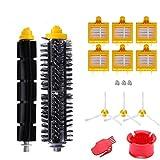 AplusTech Pack Kit Repuestos y Accesorios Filtro y Cepillo Compatible con Aspiradora iRobot Roomba Serie 700 720 750 760 765 770 772 774 775 776 780 782 785 786 790 -Pack de 16PCS