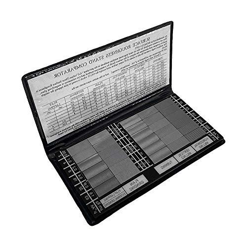 DBM IMPORTS Specimen Surface Roughness Comparator Composite Pocket Set Gauge 30 Pc