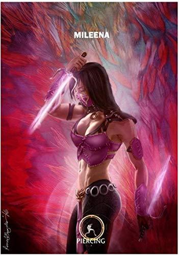 Lienzos De Fotos 60x90cm Sin Marco Mortal Kombat X - MK Hot Fighting Game Art Poster e impresiones pared decoración del hogar