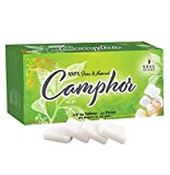 Soul Sticks Camphor Tablets | Premium Quality Refined Camphor Blocks 100% Natural for Aromatherapy, Odor Eliminator, Puja, Alcanfor | 32 Tablets (150 Grams)