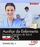 Auxiliar de Enfermería. Servicio Cántabro de Salud. SCS. Temario Vol. II.: 2