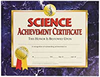 HAYES SCHOOL PUBLISHING H-VA571 CERTIFICATES SCIENCE ACHIEVEMENT-36/PK 8-1/2 X 11