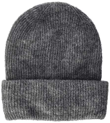 ONLY Damen ONLHEGE BEANIE Mütze, Schal & Handschuh-Set, Grau (Medium Grey Melange Medium Grey Melange), (Herstellergröße: One Size)