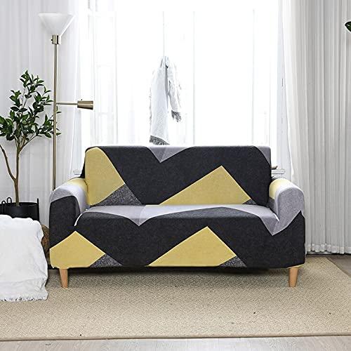 ASCV Funda de sofá Impermeable Funda de sofá elástica Funda de sofá Funda de sofá Impresa A8 4 plazas