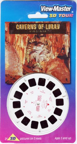 Caverns of Luray Virginia ViewMaster 3 Reel Set - 21 3d Images