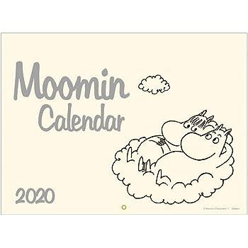 学研ステイフル ムーミン 2020年 カレンダー 壁掛け 大判 AM16001