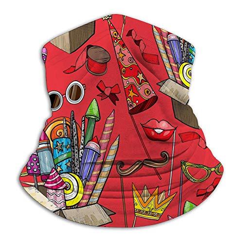 Sombreros Sin Costuras,Bufanda,Tubo De Bandanas Sin Costuras Fiesta De Caja De Cartón...