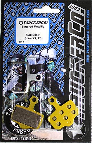 Ceramic Sintered Metallic disc Brake Pads Compatible with Sram Avid Elixir Models Elixir 9 7 5 3 1 Elixir C, R, CR, Mag Sram XX XO DB1 DB3 DB5 Level T BL red Force e-tap axs 2020 TLM ULT B-1 sm4