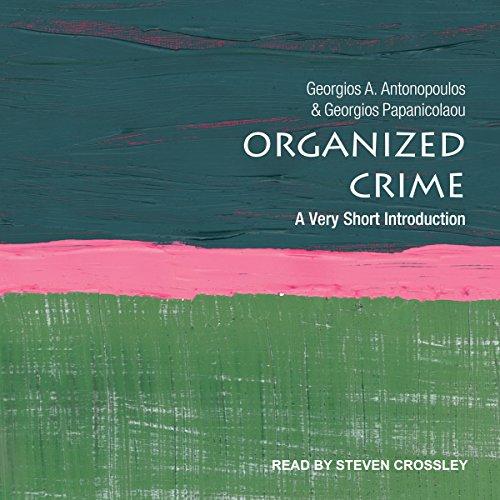 Organized Crime audiobook cover art