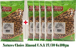 Natures Choice Almonds U.S.A 27/30 - 6x400gm